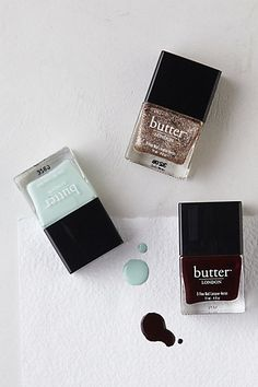 Butter London Whistle & Flute Collection #anthropologie
