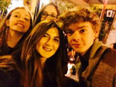 Thomas with his fans!!!