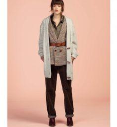 Mode automne hiver 2015 : le pantalon en velours Sessun
