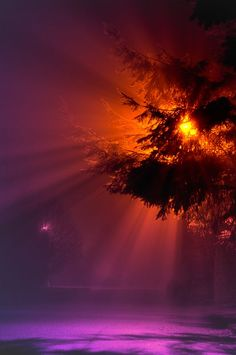 Cloud Nukes Photo - Rays in the Fog by Joshua-Cramer 915090244610335
