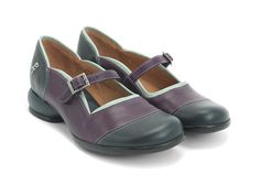 This cute and sleek maryjane style is a lean everyday casual shoe with contrasting F detail and ankle strap with a gunmetal buckle. Leather uppers, leather linings on a rubber signature Fellowship sole for comfort and durability. Old Friends are Good Friends.Instagram @fluevog #vog_sandra