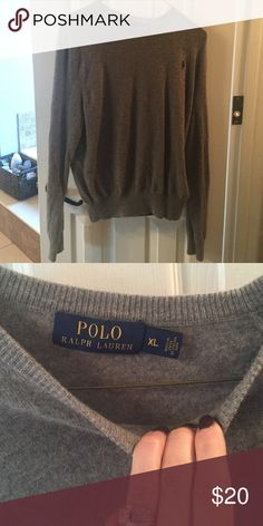 Boys wool sweater Boys wool sweater. My son wouldn't wear it so its only been washed once when I got it. Polo by Ralph Lauren Shirts & Tops Sweaters