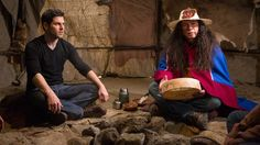 "Below you can find promotional photos for next week's episode of Grimm, Mishipeshu"".In this episode, a homicide leads Nick and Hank onto the dark and m Grimm Tv Series, Grimm Tv Show, Grimm Season 4, Watch Grimm, Mars Movies, Native American Legends, David Giuntoli, Vision Quest"