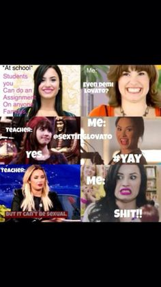 Demi Lovato. I laughed WAY to hard at this!!