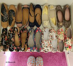 #Floral #shoes #floralshoes  because I am a Girl :D