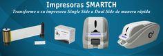 Impresoras de Tarjetas y Credenciales Smart. La impresora mas versatil. Single Side, Dual Side o Modulo de laminacion. Compre en linea en: http://www.idtienda.com