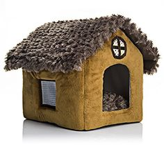 OSPet Portable Dog House Warm And Cozy Indoor  Outdoor Great For Dogs Cats Kittens Puppies and Rabbits >>> Want to know more, click on the image.