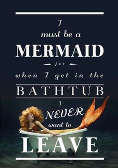 A thought I had while taking a bath.