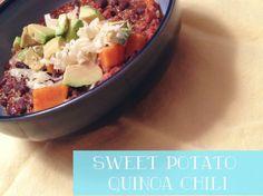 I Pinned It So I Did It - Sweet Potato Quinoa Chili
