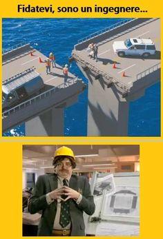 Risultati immagini per ingegnere immagini divertenti