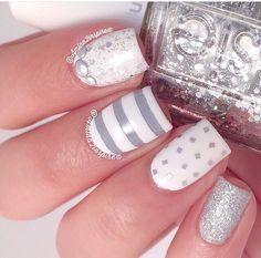 Grey & silver