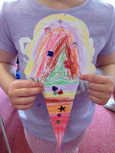 Summer Camp- Ice Cream Cones.