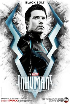 Inhumans Poster Marvel New TV 2017 Hit Black Bolt Medusa FREE P+P CHOOSE UR SIZE