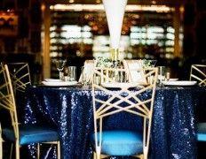 55 Elegant Navy And Gold Wedding Ideas