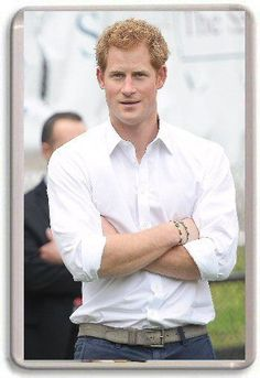 Prince Harry Fridge Magnet #3