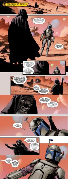 Age of Republic: Jango Fett shows us how Darth Tyranus recruited Jango to be the Clone Template which was mentioned in Episode II [Spoilers] Boba Fett Comics, Jango Fett, Star Wars Images, Star Wars Baby, Comic Panels, Clone Trooper, Show Us, Mandalorian, Starwars