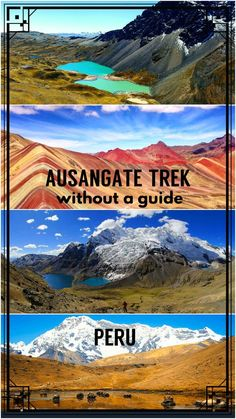 Complete guide to Ausangate hike without a guide. All you need to know to prepare; route, transport, map, prices, packing list etc.