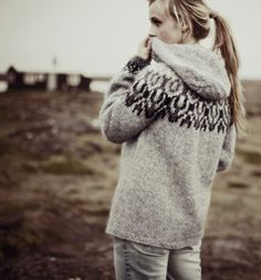 Icelandic hooded sweater