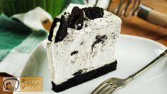 Oreo sajttorta recept, Oreo sajttorta elkészítése - Recept Videók Oreo, Panna Cotta, Pudding, Ice Cream, Cake, Desserts, Food, No Churn Ice Cream, Tailgate Desserts