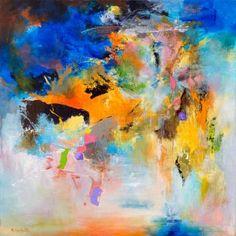 """Rikka Ayasaki; Painting, """"SUNSET 114"""" #art"""