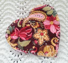 Heart Hot Pad. Great for gift giving for your by Indigidesign