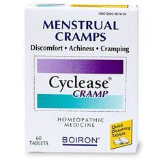 Boiron Cyclease Cramp, Menstrual Cramp Relief