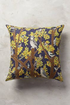 Friendly Fauna Pillow - anthropologie.com