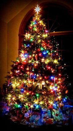 This tree reminds me of the ones my sister in law decorates at Christmas-- she goes nuts!