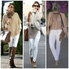 Amici moda post calça branca inverno look calça branca, jeans branco, moda inve Only Fashion, Look Fashion, Winter Fashion, Bikini For Curves, The Bikini, Fashion Moda, Womens Fashion, Fashion Trends, Latest Fashion