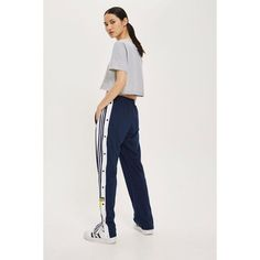 d0721c27e38 TopShop Adidas Adibreak Track Pants ( 115) ❤ liked on Polyvore featuring  activewear