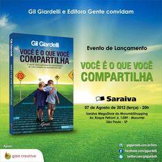 """Gil Giardelli lança livro """"Você é o que você compartilha"""" na próxima semana - Web Expo Forum 2012"""