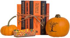One Kings Lane Vintage Spooky Nights Book Gift Set - (Set of 7) - Booth & Williams