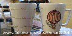 Taller de Arte Rincón Campestre: Pintura sobre porcelana: Diseños e inicio de clases