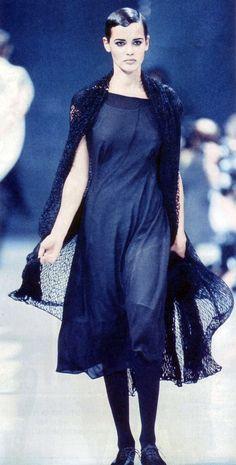 Nadege du Bospertus Yohji Yamamoto S/S 1992