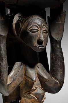 Lot n°82  Luba / Hemba Caryatid Stool Paris, Congo, Buddha, Africa, Statue, Superhero, Stool, Switzerland, Fictional Characters