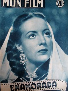 Cinema Maria Felix Dans Enamorada Luis Mariano N° 303 MON Film 1952 | eBay