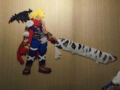Cloud Kingdhom Hearts with Peler Beads