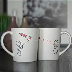 Couples Love Mugs #Under-$50 #For-Women #Valentine