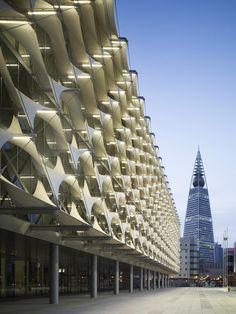 King Fahad National Library by Gerber Architekten
