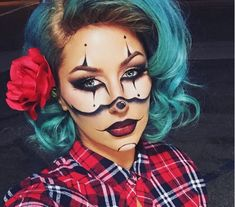 Image result for maquillajes para halloween