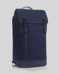 Love this: Slim Backpack Ballistic Nylon Navy - Navy @Lyst