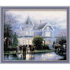 Villa Night Paint by Number Kit RH7050