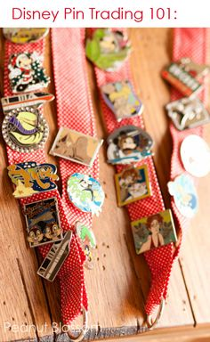 Disney Pin Trading: Have you heard of this? We thought this was hands down the best souvenir experience for our young daughters. Find out everything you need to get started and how to jump into the fun while saving a ton of money! #DisneySMMoms