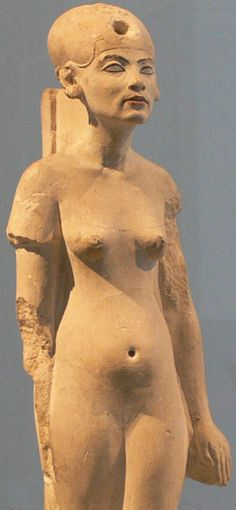 "nudiarist:  "" The Butter Rum Cartoon: HISTORY'S FIRST NUDIST QUEEN http://oldelephantwings.blogspot.com/2014/03/historys-first-nudist-queen.html  ""What offended the priests of Amon-Ra most was the king's continual attempt to introduce religious nudism..."