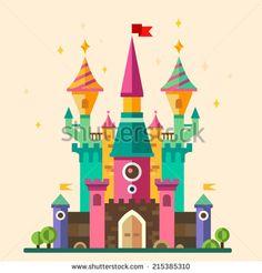 Стоковые фотографии и изображения Castles And Fortresses Flat | Shutterstock