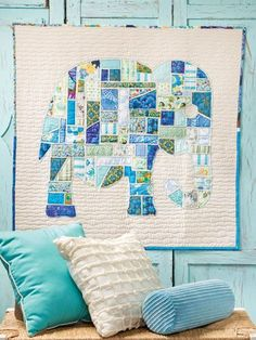 Quilt from Scrap Happy Quilting from Annie's.