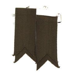Solid Color Garter Kilt Flashes