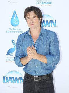 "Ian Somerhalder - International Bird Rescue - Dawn Wildlife ""We All Love Wildlife"" - July 09, 2015"