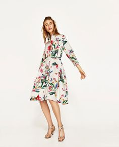 Image 1 of SHIRT DRESS from Zara