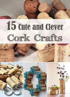 DIY Wine Corks: 15 Cute and Clever Cork Crafts